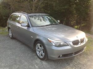 2007 BMW 5-Series 530XI Touring Wagon