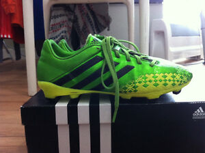 adidas outdoor soccer cleats size 6, 9and 10 1/2