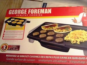 George Foreman Indoor/Outdoor Electric Grill,