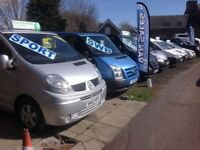 FOR SALE VAUXHALL VIVARO, RENAULT TRAFIC, FORD TRANSIT, FIAT SCUDO, WIDE RANGE OF COMMERCIAL VANS!!
