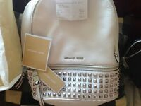 Michael Kors (Rhea) leather Rucksack.