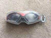 Aqua Sphere Kaynene Black with clear lenses goggles