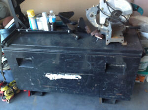 Steel construction tool box