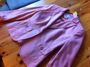 Like new and gorgeous!  Wool/silk blend Anne Taylor Loft jacket