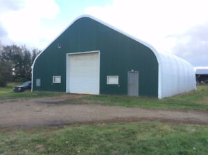 quonset for rent on acreage north of Edmonton