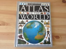 The Eyewitness Atlas of the World.