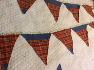Primitive Lane style large 29 'Country Bunting $60.780-933-6115