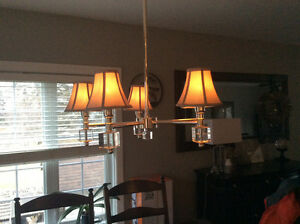 Dining room Chandelier , must see!
