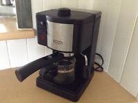 Machine à café Delonghi, espresso, capuccino, latte