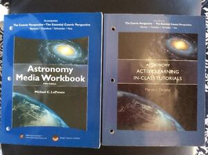 Astronomy Media Workbook and Active Learning In-Class Tutorials