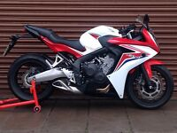 Honda CBR 650F 2015 ABS. Only 5454miles. Delivery Available *Credit & Debit Cards Accepted*