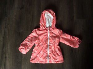 2t girls fleece lined jacket