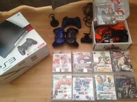 PS3 Slim with 40 Games