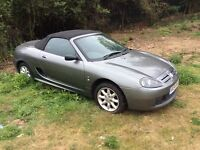 MG CONVERTABEL 2005 MODEL LW MILLAGE SPARES REPAIRS DRIVES GREAT NO KEYS N KEYS NO KEYS