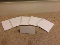 59 blank place cards