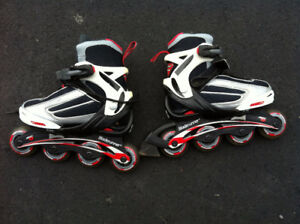 Red And White Roller Blades