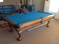 4' X 8' POOL TABLE