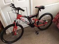 Sabre twin disc system mountain bike