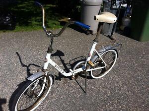 Rog Pony folding bike.