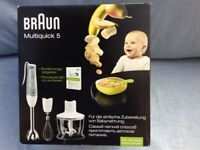 BRAUN MULTI QUICK 5 BLENDER