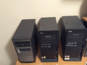 Computer Towers for sale with power cords