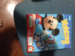 Mickey Mouse Yahtzee jr game for sale
