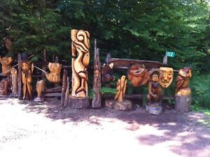 TRADE YOUR 4X4 ATV FOR MY CHAINSAW CARVINGS! Peterborough Peterborough Area image 6