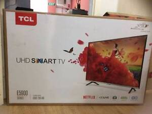 """TCL 55"""" UHD SMART LED TV WITH YOUTUBE &NETFLIX ONLY $699 Glenroy Moreland Area Preview"""