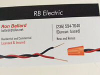 RB Electric. $65/hr