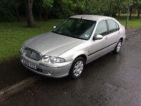 2001 Rover 45 1.6 Impression-24,000-12 months mot-2 owners-great reliable value