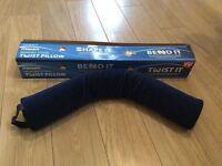 Maxim memory foam twist pillow