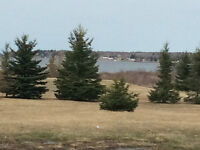 WATER VIEW ,OVER 1 ACRE,PRIVATE ROAD OPEN YEAR ROUND