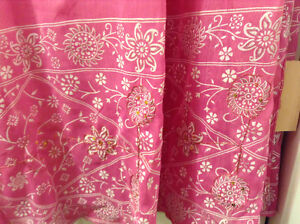 Two large Ladies wraps material from india