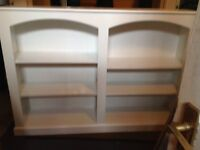 Beautiful Shabby Chic shelving unit and matching drawers
