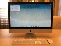 "Apple iMac 27"" 2.7GHz i5 4GB RAM 1TB HD"