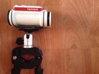Tom Tom bandit with Bike mount and Tripod