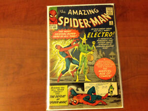 The Amazing Spider-Man #9, 1st Appearance of Electro