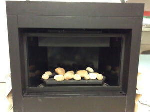 Zero Clearance Direct Vent Gas Fireplace:  Kingsman/Marquis