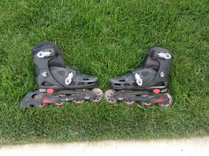 Size 2-5 Adjustable Rollerblades