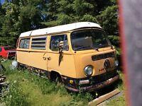 Volkswagen bus camper