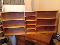B.C. White Pine Handmade Curio Shelf
