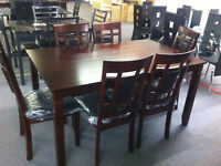 THIS BRAND NEW 6 PIECE DINETTE SET IS ON SALE FOR ONLY $599.99