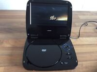 Panasonic headphones/Portable DVD player