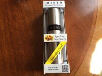 MISTO GOURMET OLIVE OIL SPRAYER NEW