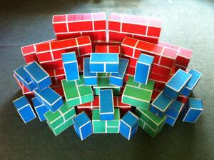 Cardboard Play Bricks