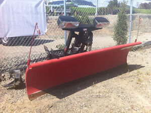 2012 WESTERN PRO PLOW 8FT W/UNIMONT FIT TO ANY TRUCK