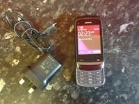 Nokia c2-02 mobile phone + charger