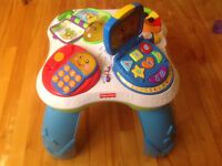 Table musicale fisher price  Table musicale educative ang / fr