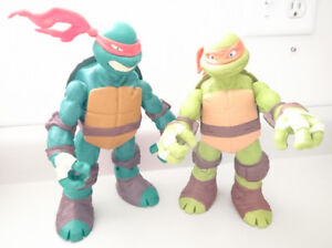 Teenage Mutant Ninja Turtles Michelangelo & Raphael  Action Figu