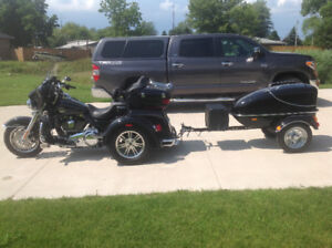 2013 HD TRi glide with matching pull trailer PRICE REDUCED.